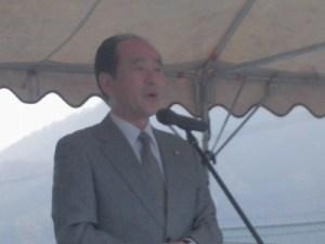 大野市議会議長 高岡和行(たかおか かずゆき)氏