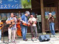 ギター嶋 悦広氏、ドブロ・ギター山田憲治氏、マンドリン西尾 康氏、フィドルkazuhiro yamada氏