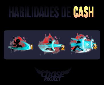 Uno terá habilidades de CASH por carga, são elas: • 斬魂 [Corte de Almas] (500 cargas) Preço: 50CASH • 光鱗 [Escamas Cintilantes] (500 cargas) Preço: 60CASH • 閃光 [Clarão] (500 cargas) Preço: 70CASH