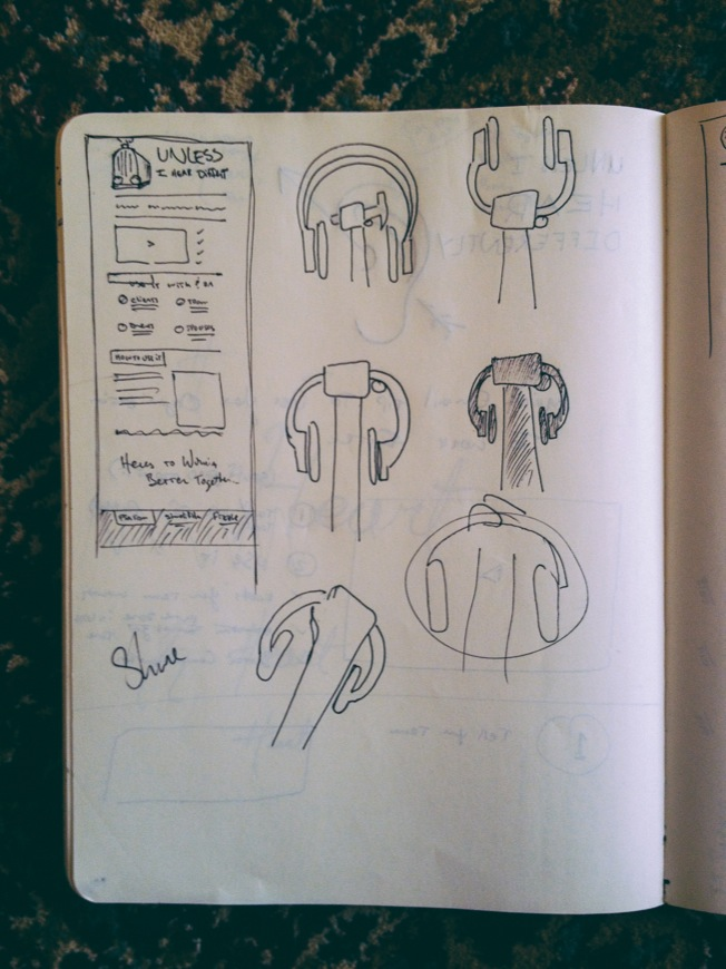 Sketches for UIHD