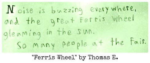 Ferris Wheel by Thomas E.