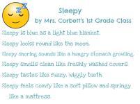 Mrs. Corbett's 1st Grade - Sleepy