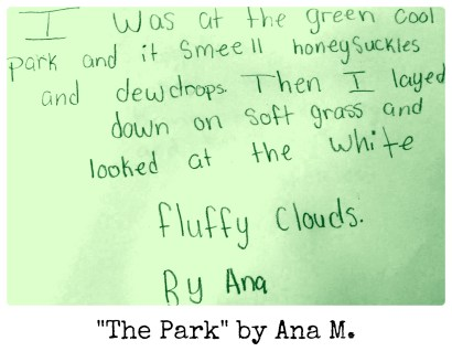The Park by Ana M.