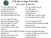 If We Were in Charge of the World... by Mrs. Favors' 2nd Grade Class