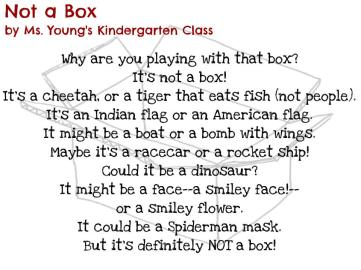 Not a Box by Ms. Young's Kindergarten Class