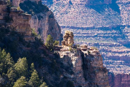 Grand Canyon view from the watchtower
