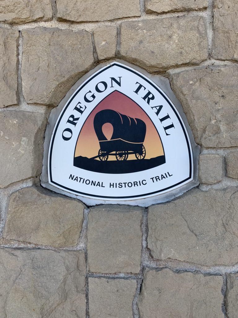 Oregon Trail sign.