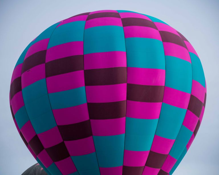 A colorful balloon that caught my eye.