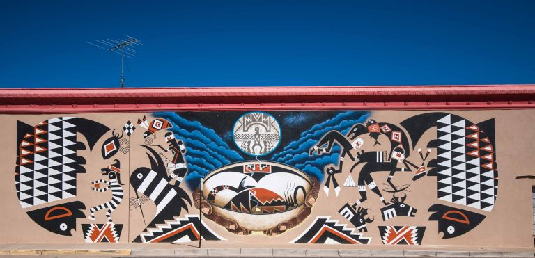 The amazing mural in its entirety.
