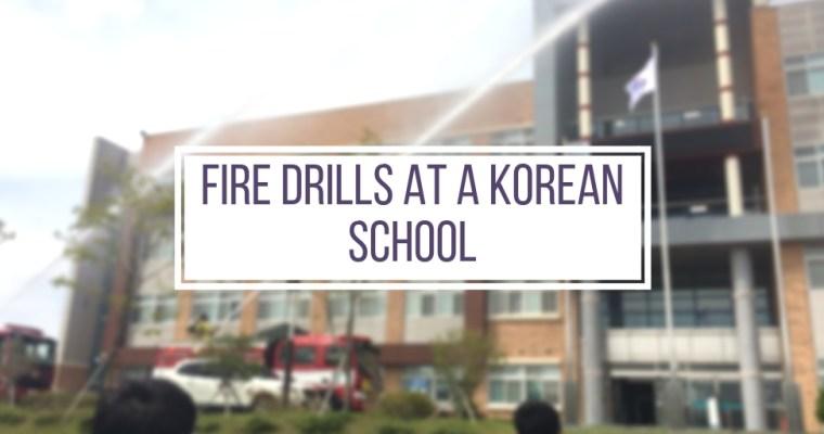 Fire Drills at a Korean High School
