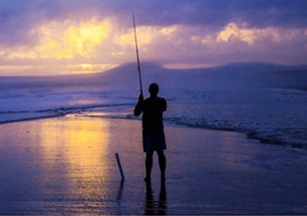 fishing time alone in solitary