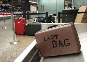 Lost baggage airport- chase williams airsick