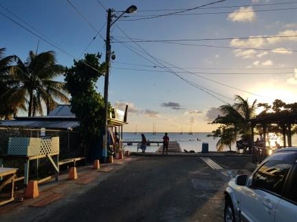 Rasta corner bar at Gros Islet, St Lucia