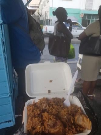 Streetfood Kingstown St Vincent