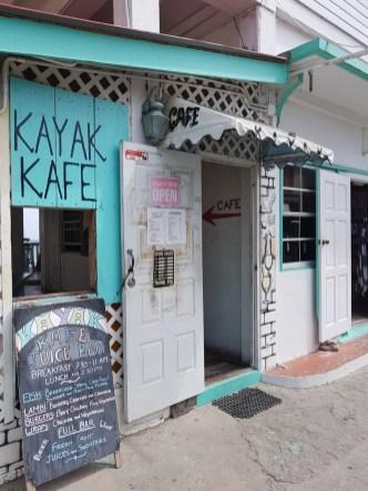 Kayak Kafe, Carriacou