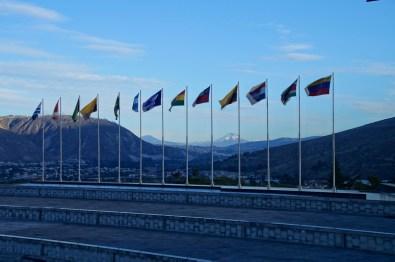 Die kolumbianische Flagge weht jetzt wohl nicht mehr mit