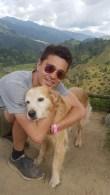 Dieser liebe Hund ist uns auf Schritt und Tritt nach Salento gefolgt, ich hoffe er hat wieder heimgefunden.
