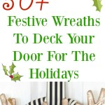 50+ Festive Wreaths To Deck Your Door For The Holidays