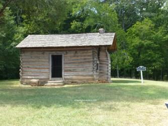Snodgrass cabin field hospital