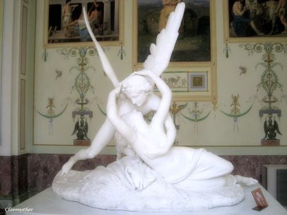 Psyche Revived by Cupid's Kiss Hermitage Museum