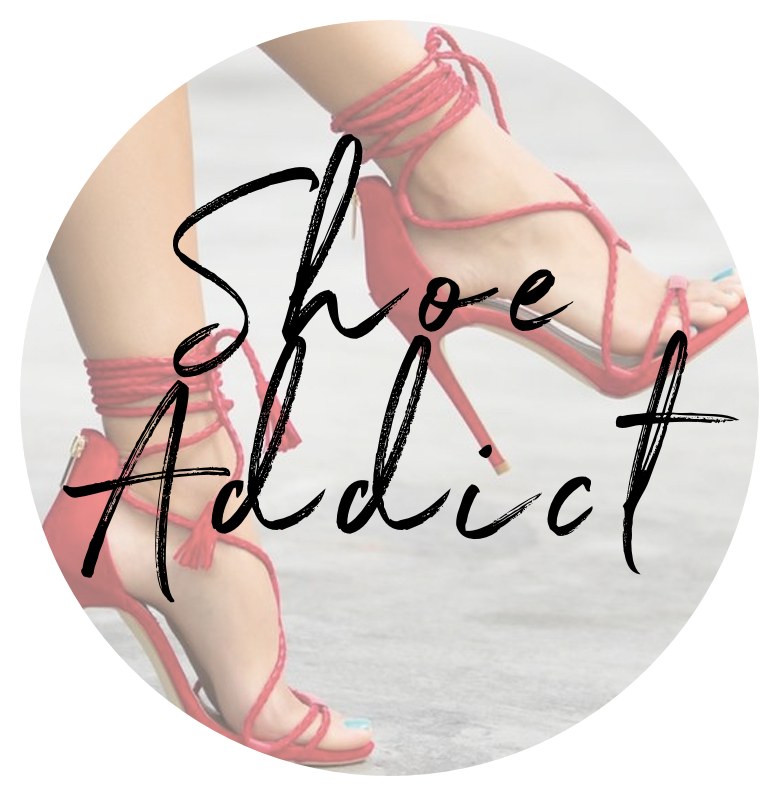 shoe addict about me page image
