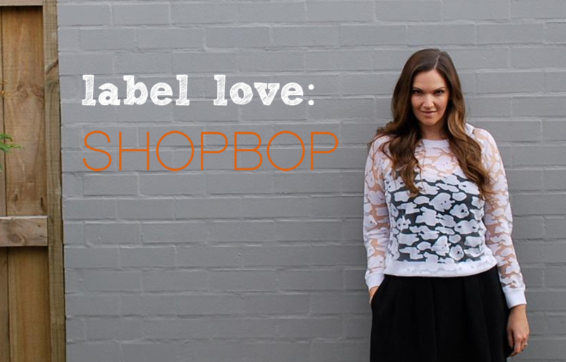 Label Love: Shopbop (plus super-sale details!)