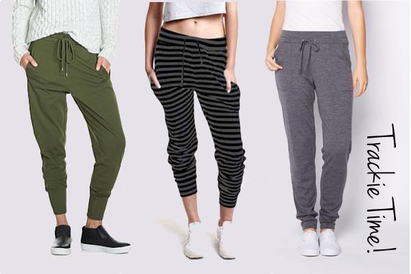 Fashionable tracksuit pants