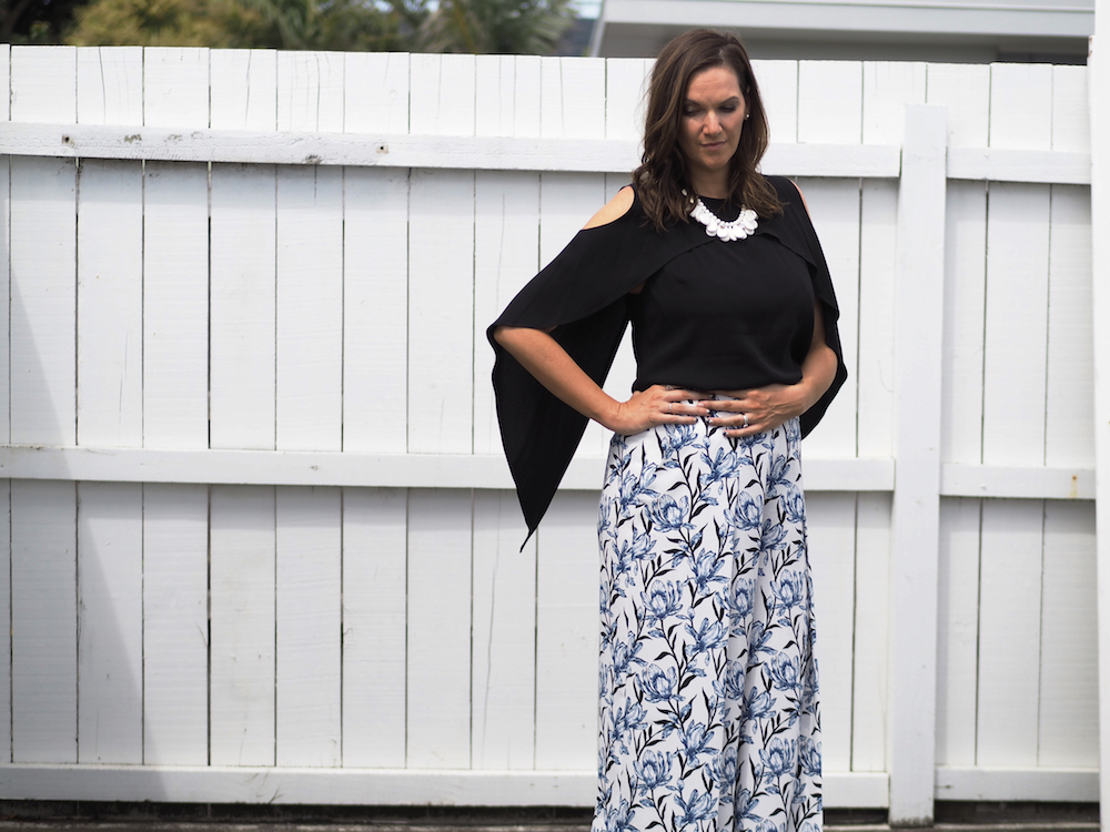 1 item, 3 ways {Printed Culottes}