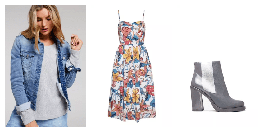 4 ways to wear a summer dress in winter.