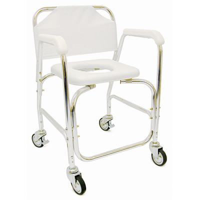 Re-invent the Wheel: Shower Chair Wheels are Evil