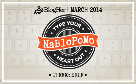 Five Things: NaBloPoMo