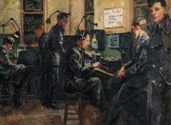 Blacker, Elva Joan; Radio Transmission, Biggin Hill; Royal Air Force Museum; http://www.artuk.org/artworks/radio-transmission-biggin-hill-135665