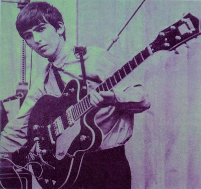 George in 1963 with the Gretsch Country Gent