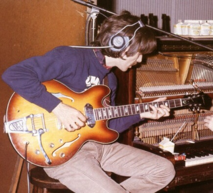 George with Casino in the studio