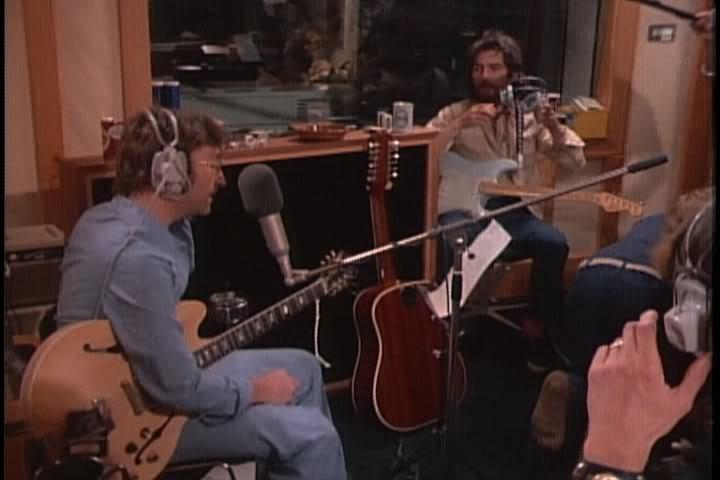 John in the studio with his Casino