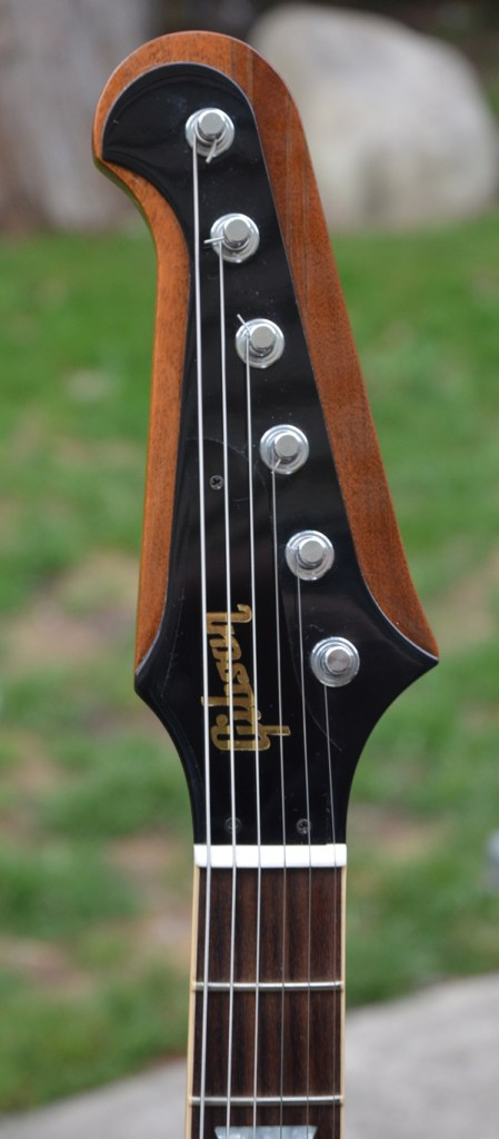 Banjo tuners give headstock clean look