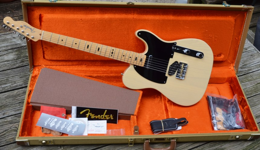 Late 2006 G.E. Smith Fender Signature Telecaster one of the very early ones