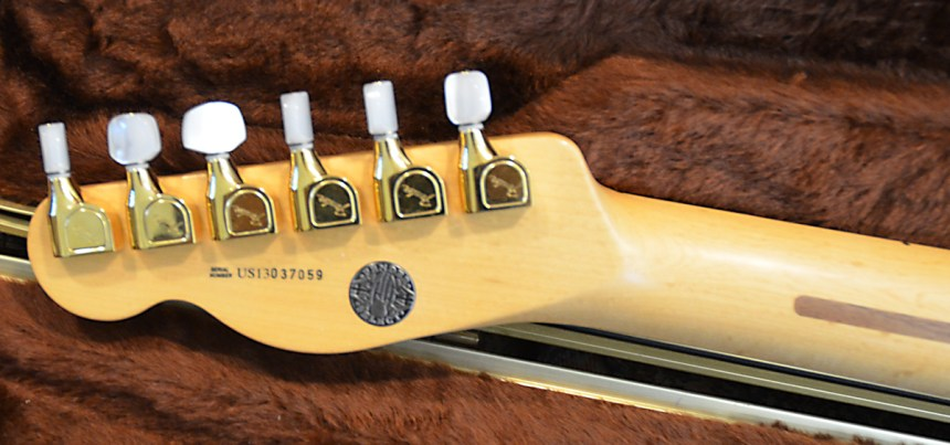 Fender Select Neck Gold Elite Tuners