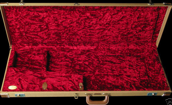 New Fender G&G Tweed Case for this guitar
