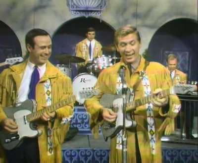 Fender Sparkle Telecasters on Buck Owens Show