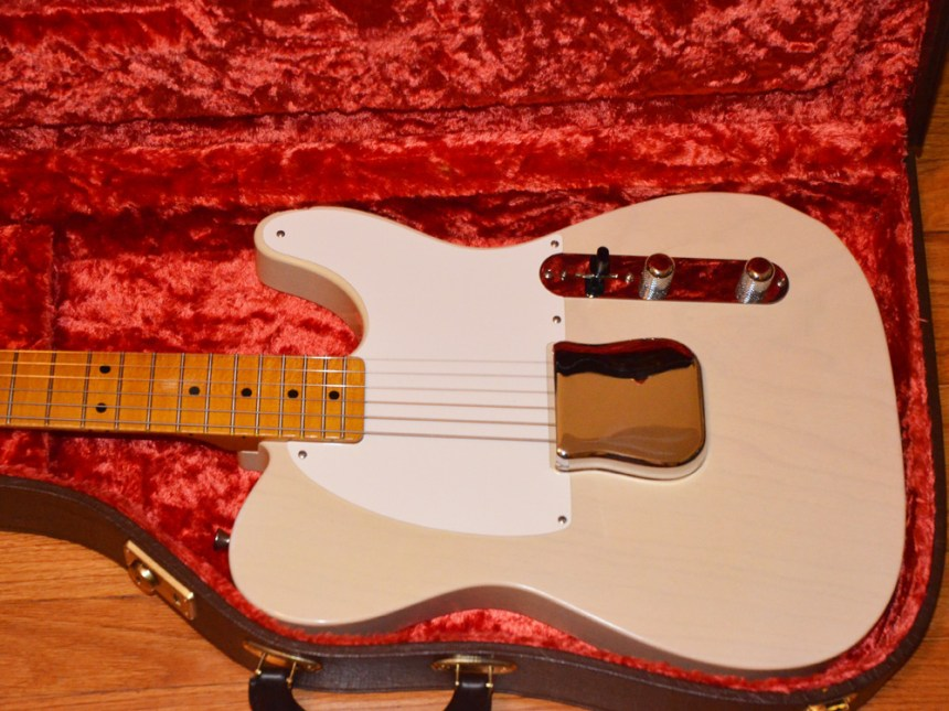 Bridge cover as Fender would have sold an Esquire