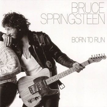 Bruce Springsteen with modified '50s Esquire on the famous cover of his 1975 classic, Born to Run.