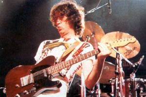 Jimmy Page used Telecaster on Led Zeps first and second albums