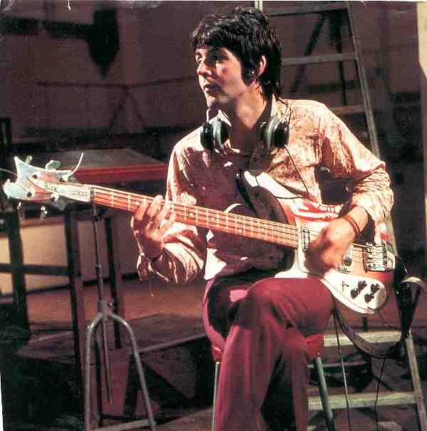 Sir Paul with Rick Bass