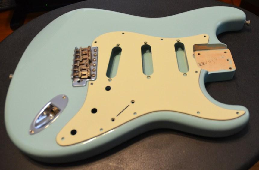 Fender Mint Green pickguard