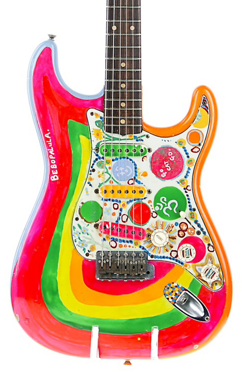 """The real George Harrison """"Rocky"""" Stratocaster"""