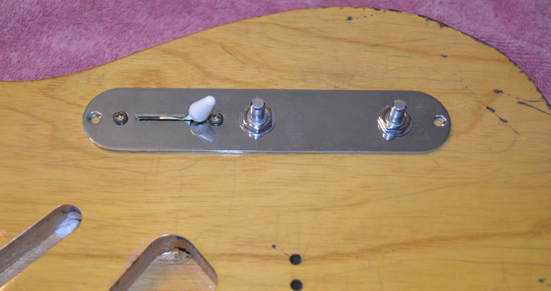White Strat switch tip like Keith's Micawber