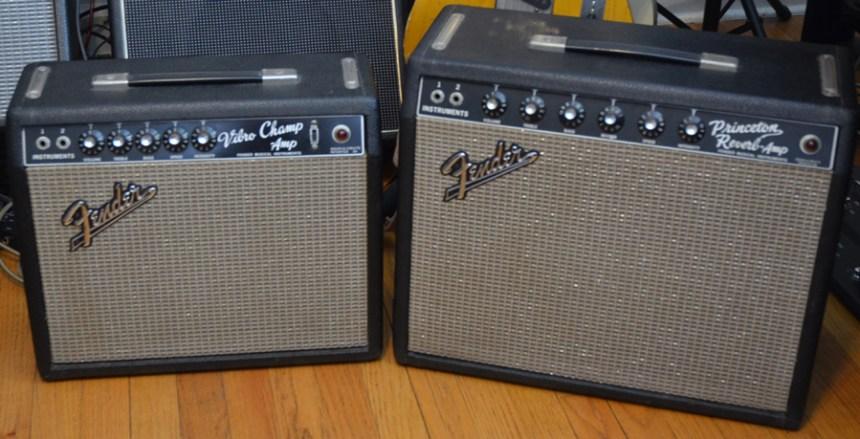 Fender Blackface Amps - 1965 Vibro Champ & 1966 Princeton Reverb