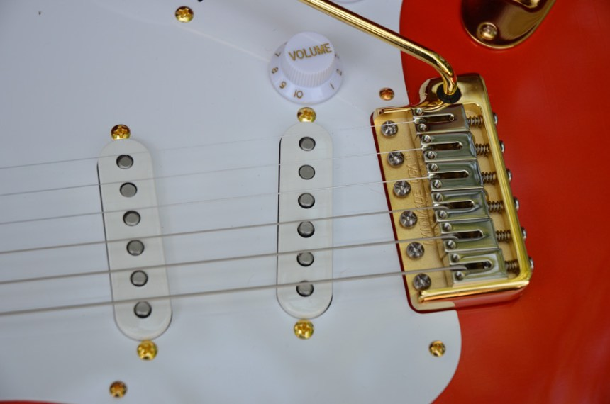Red Custom Stratocaster Build | ChasingGuitars