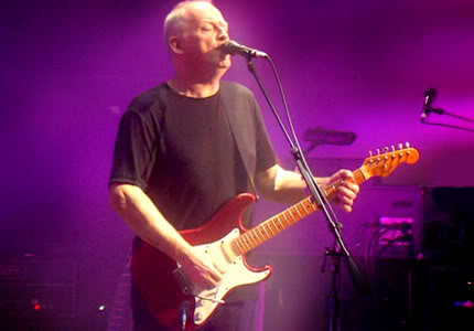 David Gilmour's Red Strat